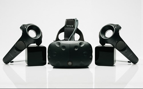 HTC VIVE Headset and Controllers